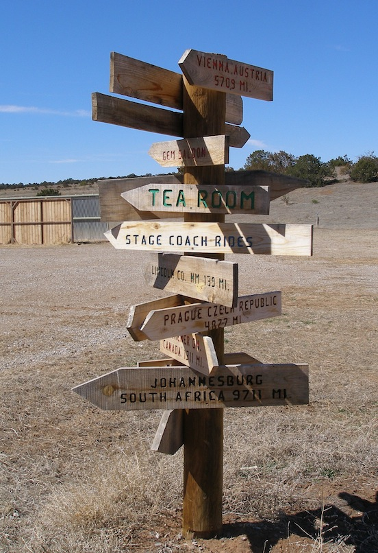 Directions at SASS Founders Ranch, Edgewood,  New Mexico 2012<br>