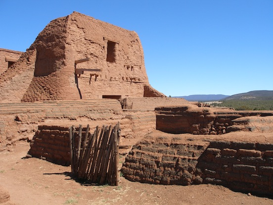 Pecos National Monument, Pecos, N.M (photograph D. Valenza)<br>