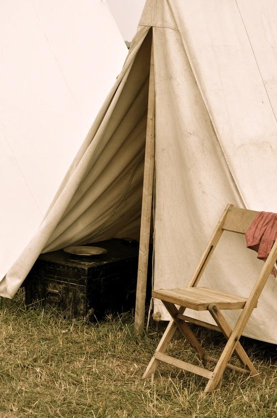 Reenactment at Gettysburg, Pa. 2011<br>Photograph:D.Valenza
