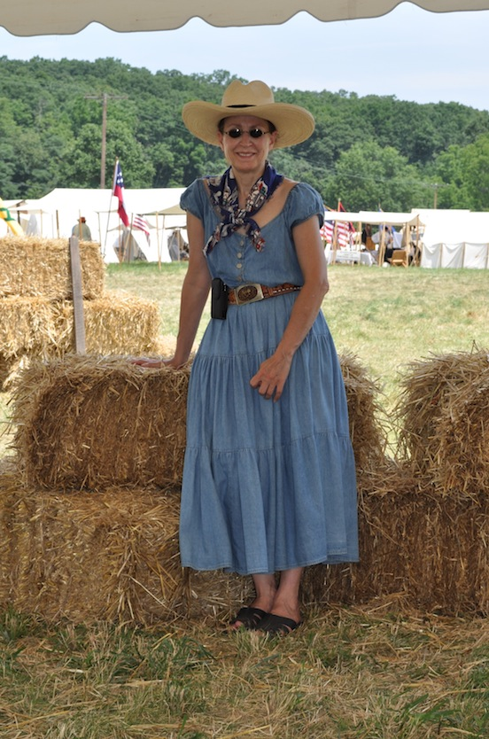 2012  D.E. Valenza, Gettysburg, Pa <br>She is wearing the Oval Small