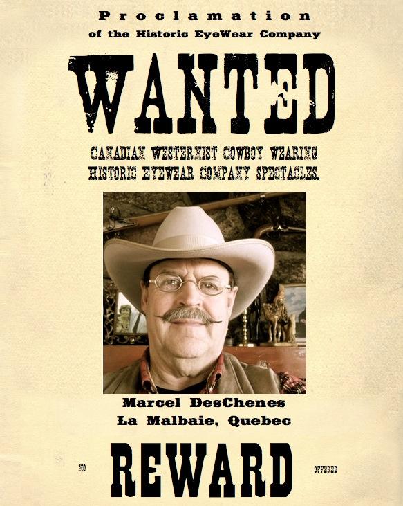 Marcel DesChenes, <br>Canadian Westernist Shooting Cowboy, La Malbaie, Ouebec