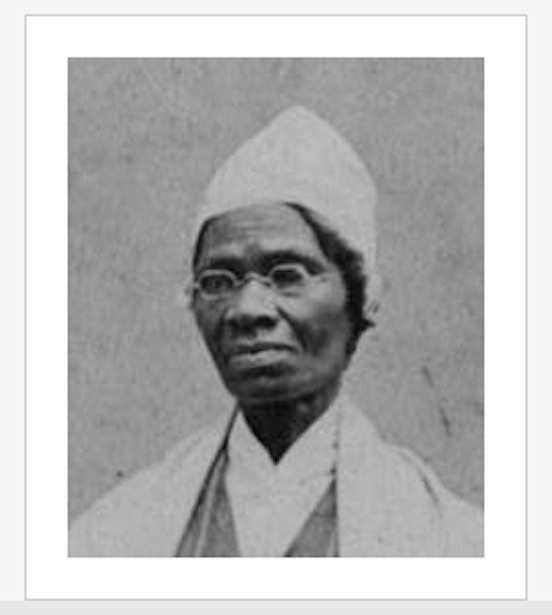 Sojourner Truth,  wearing octagon spectacles<br>Abolitionist and women`s rights activist c. 1797-1883