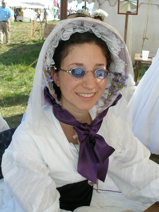 Kelly Borrello, MI<br>Kelly is a member of Living History Experience