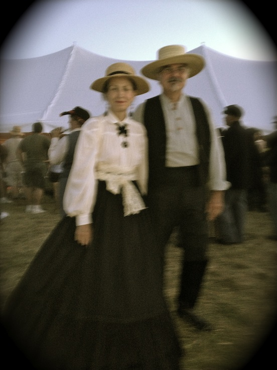 Doree and Thom at the 150th Gettysburg- Saturday night dance<br>Sister Susan Valenza took this shot with her