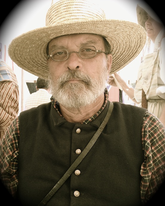Robert Wingert, at the 150th Gettysburg<br>