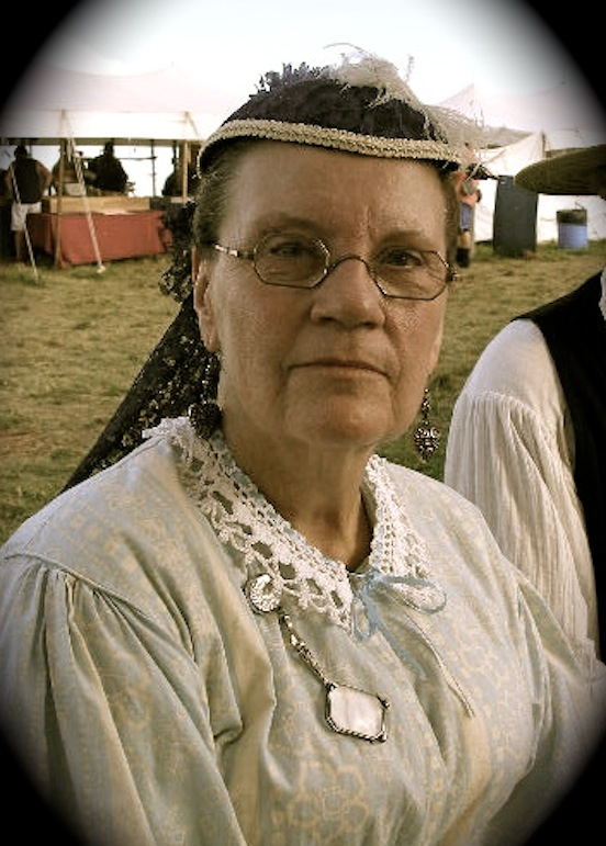 Paula Abels at the 150th Gettysburg<br>