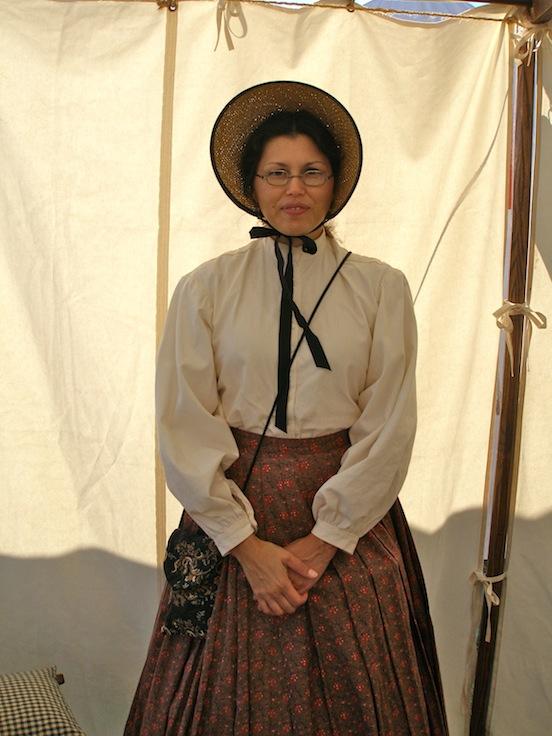 Jennifer D`Arezzo<br>Jennifer is wearing the 1835-80 Oblong in Naugatuck Valley Tarnish Brass