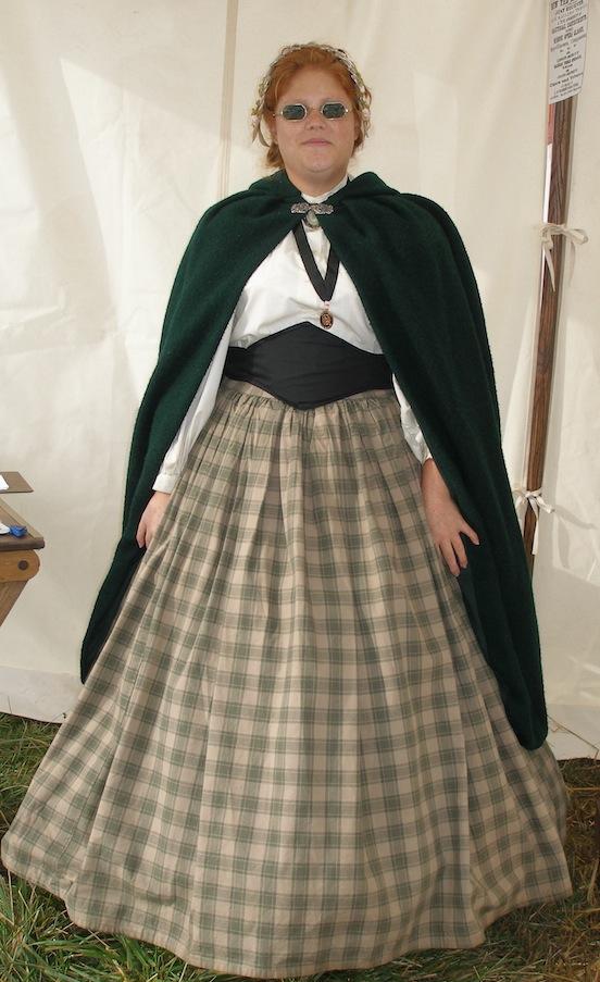 Amanda Morgante<br>At the Cedar Creek Battle Reenactment Oct. 2013