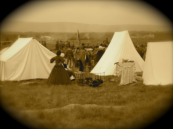 149th Cedar Creek Battle Reenactment <br>Campsites