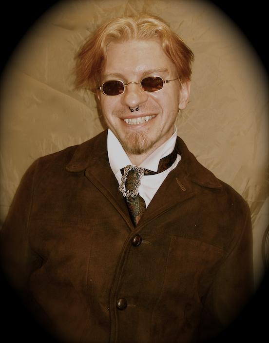 Nathan E. Heitzenroeder, Victorian Vampire<br>Steampunk World`s Fair, Piscataway,NJ