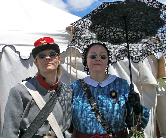 Alisa Licata & Christine Corrado, Sisters from NJ<br>151st Gettysburg