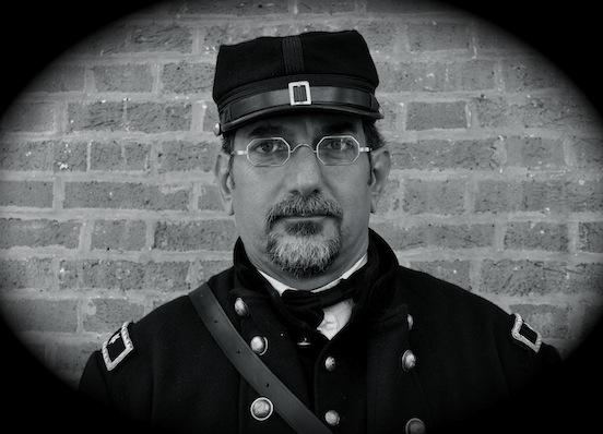 General John F. Hartranft as portrayed by John Schlotter<br>Photograph: D. Valenza