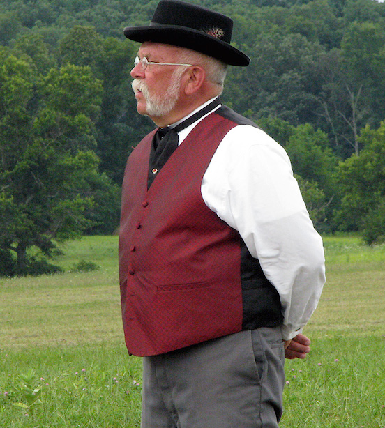 Rich Heinick, Arbiter (umpire) 19th Century baseball<br>2014 Gettyburg 19th Century Baseball Festival