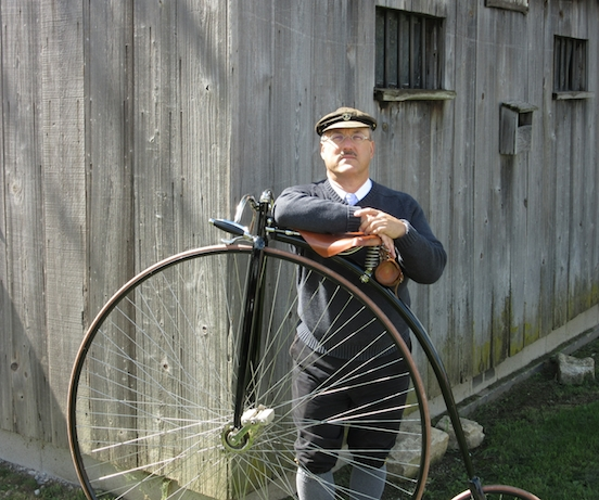 Paul Schmidt, Vintage Bicyclist<br>