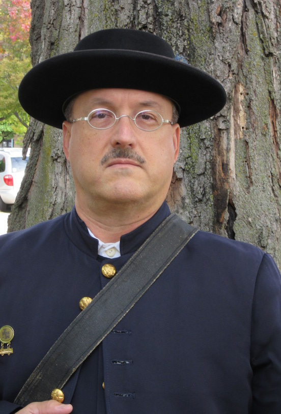 Paul Schmidt, Reenactor from Illinois<br>