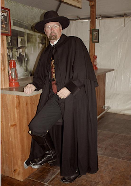 Jim Ruch, aka : Coal Train<br>SASS Award Winner Best Dressed Gentleman!