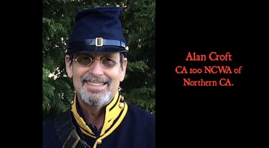 Alan Croft, CA 100 NCWA of Northern CA<br>Gettysburg