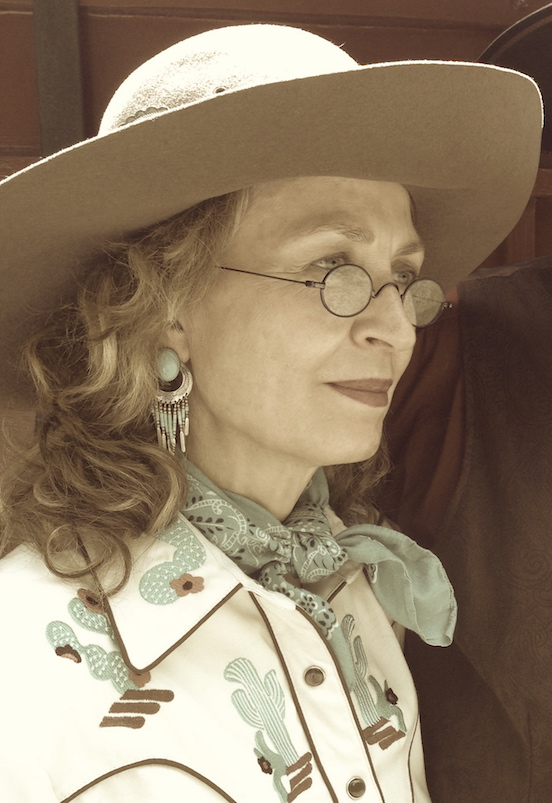 Doreen Valenza<br>All dressed up in her cowgirl clothes!