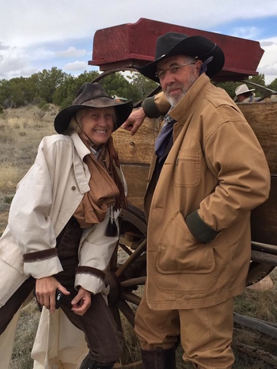 "Annie Winchester and Al Hader<br>Movie- ""The Peacemakers- The Night of The Ripper"".