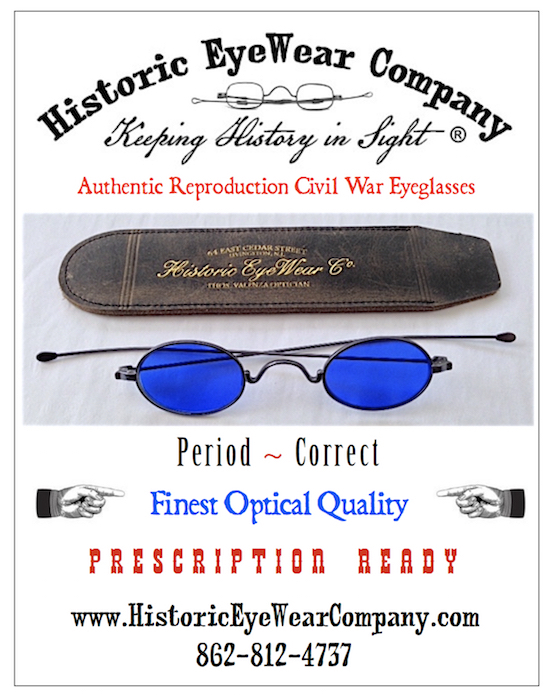 2016 Civil War News <br>Our ad in Civil War News  Gettysburg edition