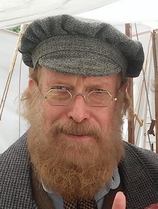 Allen Brenner, York,PA<br>Allen is wearing 1855-80 Octagon in Tombstone Silver Dust
