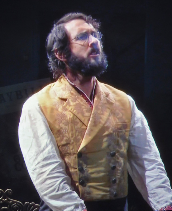 Josh Groban on Broadway in The Great Comet of 1812<br>This photo was not taken at the performance.