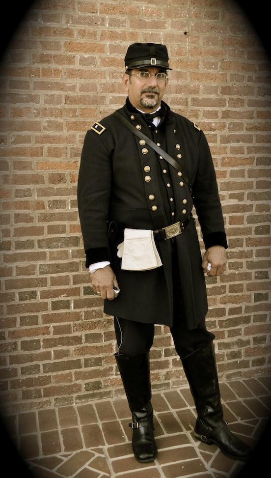 General John F. Hartranft as portrayed by John Schlotter <br>