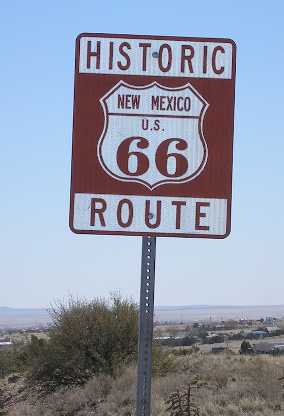 Route 66, New Mexico<br>