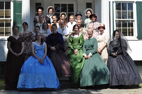 Civil War Fashion Show Morristown, N.J. 2011<br>