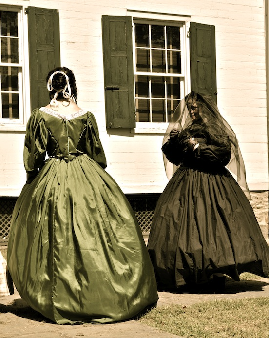 Civil War Fashion Show Morristown, N.J. 2011<br>Photographs by D. Valenza