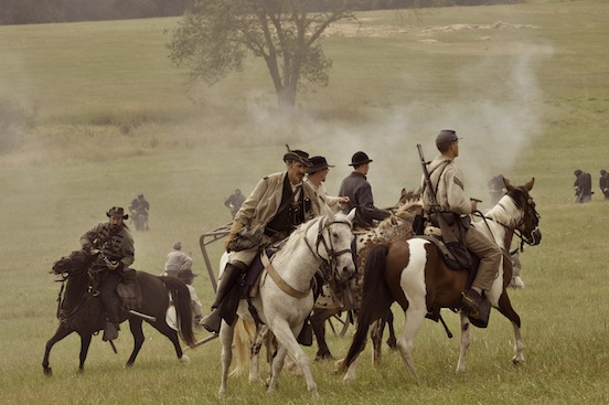 Reenactment at Gettysburg, Pa. 2011<br>Photograph: D.Valenza