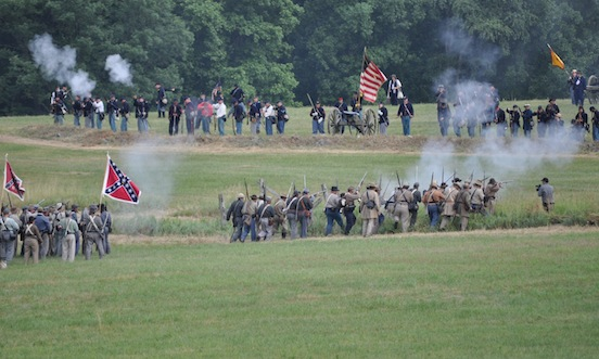 2011 Gettysburg, Pa. The North and The South...<br>Photograph: D.Valenza