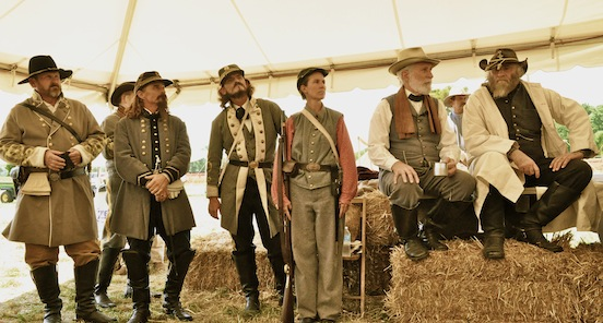 2012 Gettysburg, Pa  Lee`s Lieutenants gathered together-Photograph: D. Valenza<br>