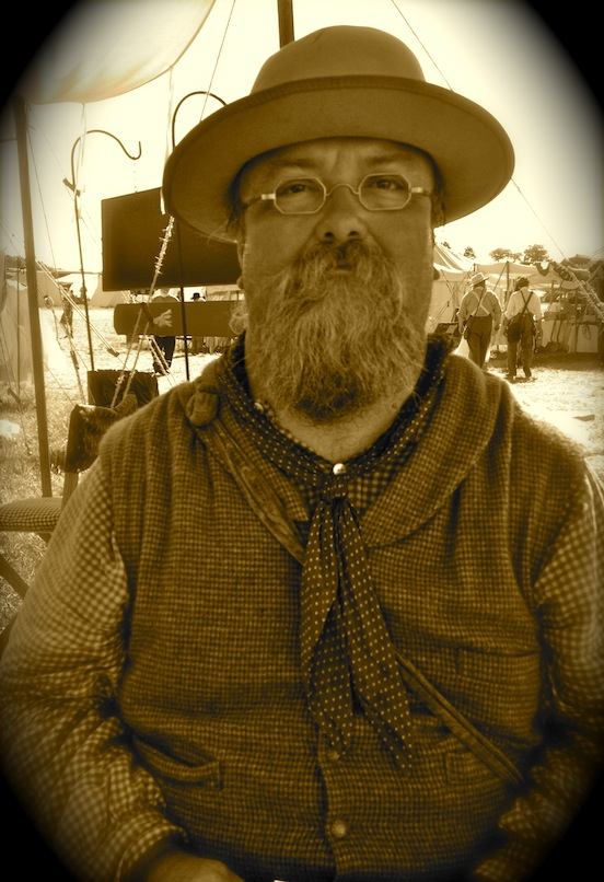 Jamey Wentsky at the 150th Gettysburg<br>Jamey is from Anderson, S.C