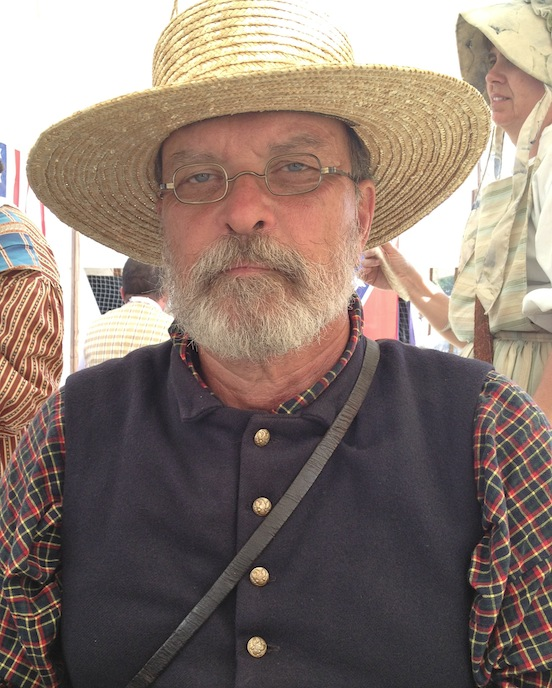Rob Wingert from Gettysburg, PA<br>at the 150th Gettysburg