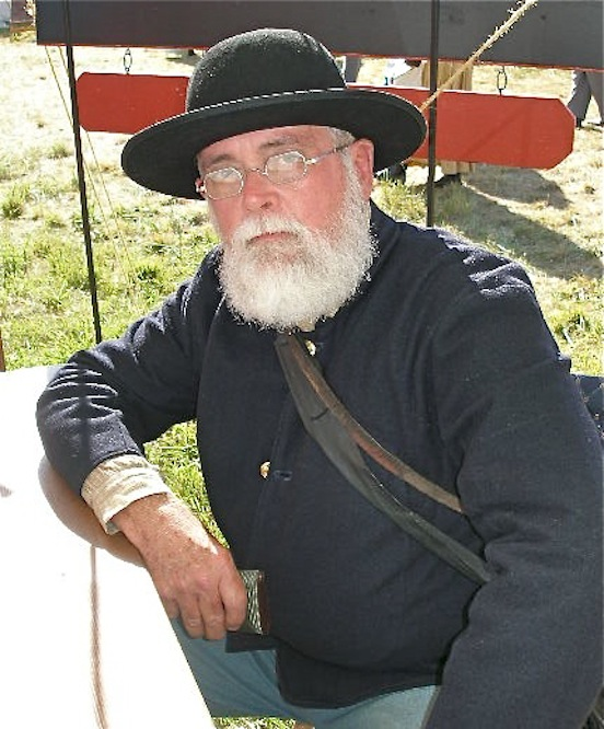 Thomas Stanton, at the 150th Gettysburg<br>