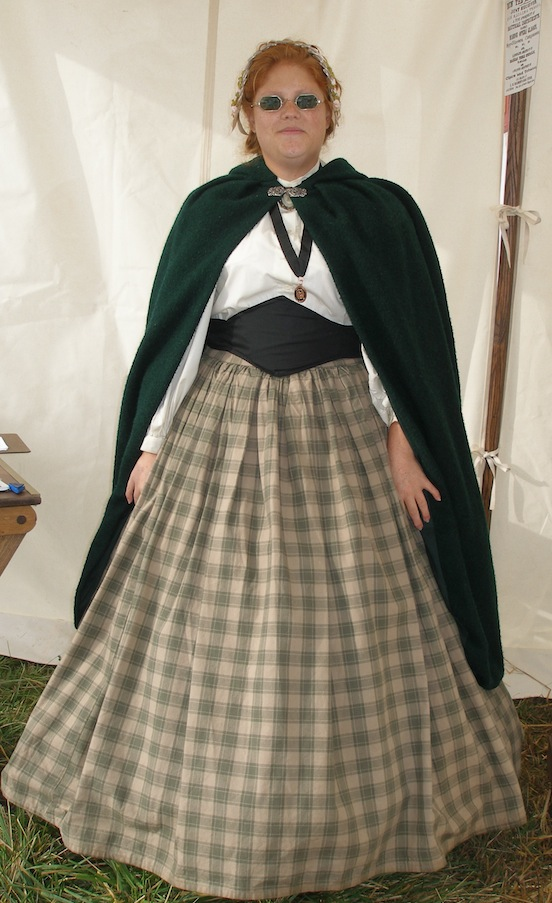 Amanda Morgante<br>At the Cedar Creek Battle Reenactment Oct. 2013