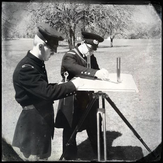 Correy Twilley, OK Recreation of the 1850`s Army Railroad Survey<br>Recreation of the 1850`s Army Railroad Survey performed by Amiel Whipple. The survey spanned the distance from the Mississippi River to the Pacific Ocean and crossed Indian Territory.