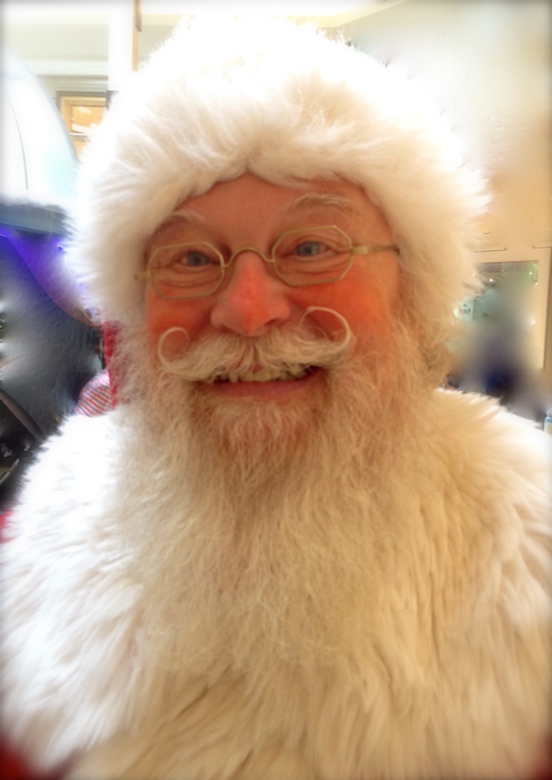 Santa Claus Richard Brunkow<br>At the Short Hills Mall, Short Hills, NJ