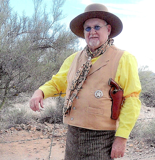 Lawrence W. Jones <br>Attending the 68th Annual Gold Rush Days in Wickenburg, AZ