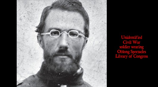 Civil War Cowboy Victorian Era Steampunk Eyeglasses